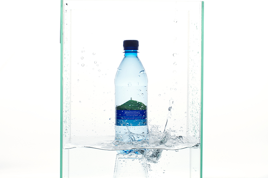 Commercial Photography for Glastonbury Spring Water
