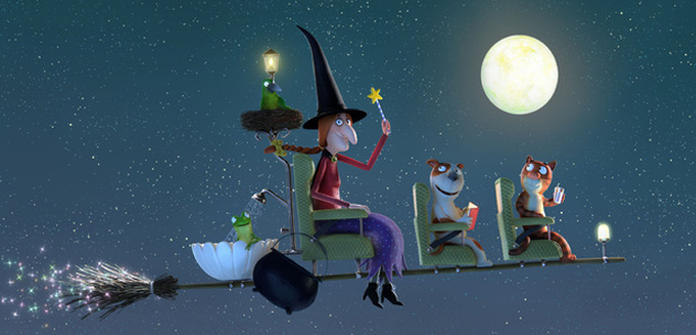 Room on the Broom inspiration